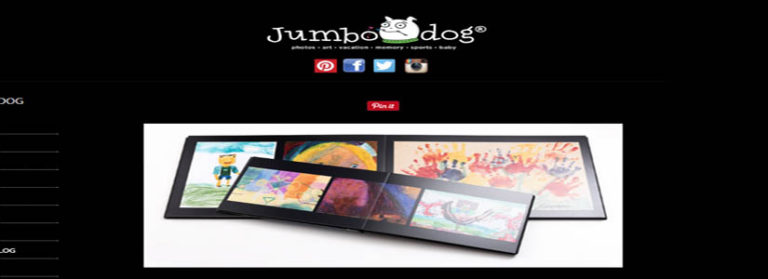Jumbo Dog Art Books